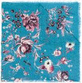 Roberto Cavalli floral print scarf - women - Silk/Cashmere - One Size