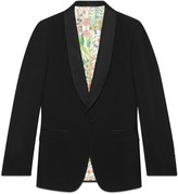 Gucci Signoria wool jacket with embroidery