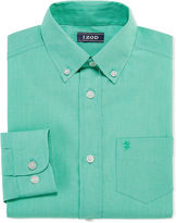 Izod Long Sleeve Woven Dress Shirt -8-20