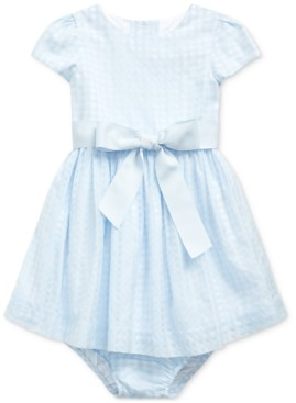 Polo Ralph Lauren Baby Girls Plaid Fit & Flare Dress