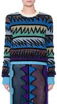 Missoni Zigzag Knit Crewneck Sweater
