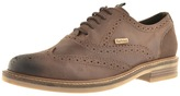 Barbour Redcar Brogue Shoes Brown