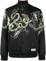 Wacko Maria Cobra souvenir bomber jacket
