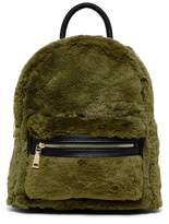 Urban Expressions Tilly Vegan Faux Fur Mid Backpack
