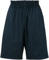 Comme des Garcons elastic waistband shorts