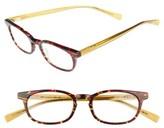 Eyebobs Men's On Board 47Mm Reading Glasses - Red Tortoise