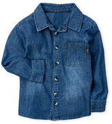 kardashian kids (Boys 4-7) Chambray Sport Shirt