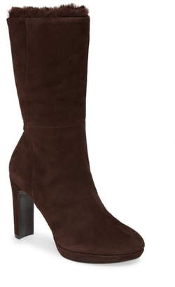 Calvin Klein Pebbles Faux Shearling Lined Boot