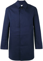 MACKINTOSH classic short raincoat - men - Cotton - 40