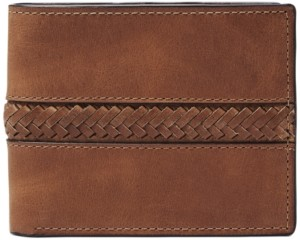Fossil Men's Francis Flip Id Leather Wallet