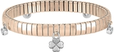 Nomination Rose Gold PVD Stainless Steel Women's Bracelet w/Charms and Cubic Zirconia