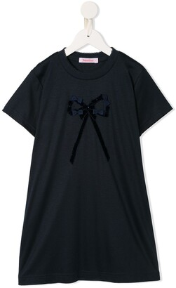 Familiar Bow T-shirt dress