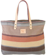 Will Leather Goods Reversible Weaver's House Tote