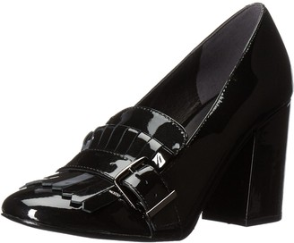 Kenneth Cole New York Women's Cambrie Dress Pump with Kiltie Toe Patent Slide