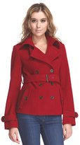 Zareen by BC24 Zareen Women's Short Wool Trench Coat / /