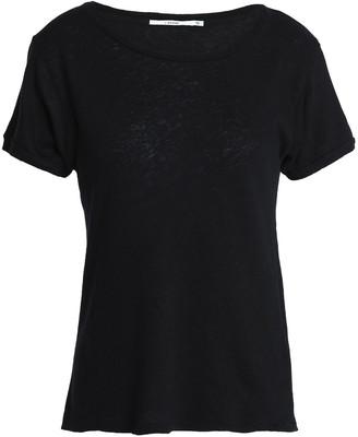 J Brand Nerd Slub Linen And Cotton-blend Jersey T-shirt