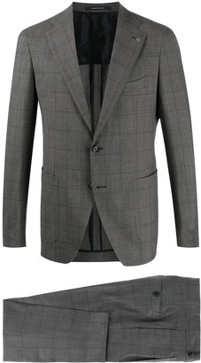 Tagliatore Check Two-Piece Suit