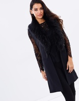 Saturdays Vest & Detachable Faux Fur
