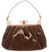 Judith Leiber Velvet Evening Bag