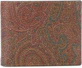 Etro patterned wallet - men - Cotton/Calf Leather/Nylon/PVC - One Size