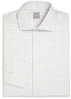 Ike Behar Regular-Fit Check Cotton Dress Shirt