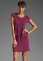 Bobi Linen Cap Sleeve Dress