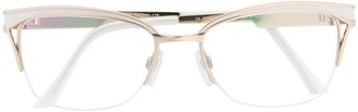 Cazal Cat-Eye Shaped Glasses
