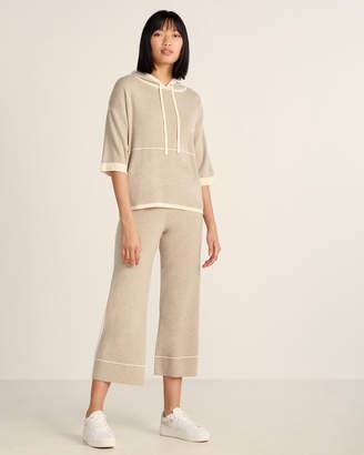 Max & Moi Two-Piece Merino Wool-Blend Hoodie & Sweatpants Set