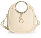See by Chloe Mara Leather Ring-Handle Tote