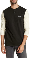 Volcom Matthews 3/4 Sleeve Henley Shirt