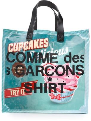 Comme des Garçons Shirt Coated Shopper Tote