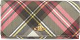 Vivienne Westwood Check Derby wallet