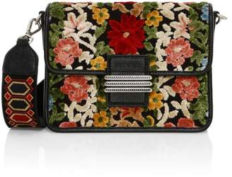 Etro Rainbow Carpet Floral Embroidered Shoulder Bag