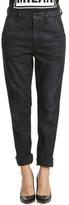 Diesel Pantalon Chino Slim Noir