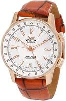 Vostok Europe Vostok-Europe Men's Gaz-Limo Automatic, Dual Time Watch 5609060