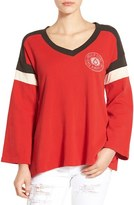 Volcom Women's 'Number One' Long Sleeve Cotton Tee
