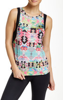 Pink Lotus Refresh Dolman Tank