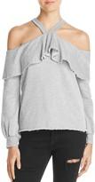 Nation Ltd. Cascade Cold Shoulder Sweatshirt - 100% Exclusive