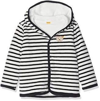 Steiff Baby Sweatjacke Nicky Track Jacket, (Marine|Blue 3032)