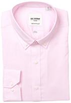 Ben Sherman Long Sleeve Tailored Skinny Fit Solid Dress Shirt