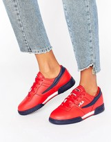 Fila Original Fitness Trainers In Red