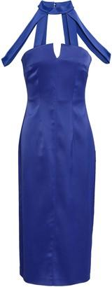 Safiyaa Satin-crepe Dress