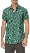 Rodd & Gunn Canoe Creek Floral-Print Short-Sleeve Sport Shirt