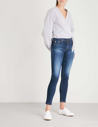 AG Jeans The Legging Ankle super skinny mid-rise jeans