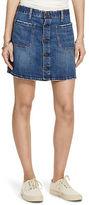 Denim & Supply Ralph Lauren D&S Tilden Button-Front Skirt