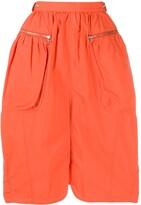 Ambush Parachute midi cotton skirt