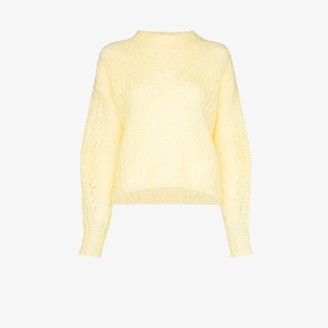 Isabel Marant Inko mohair wool knit sweater