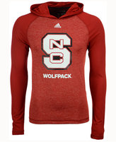 adidas Men's North Carolina State Wolfpack Loyal Fan Climalite Hooded Long Sleeve T-Shirt