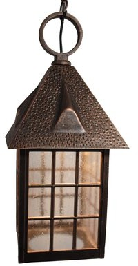 Flannigan 1-Light Outdoor Hanging Lantern Charlton Home Finish: Black, Bulb Type: 150W Standard Base