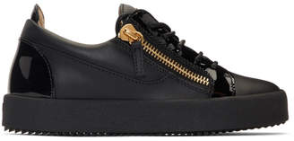 Giuseppe Zanotti Black May London Sneakers